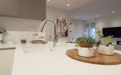 Odette, reforma de cocina y comedor-salón de una vivienda de Barcelona