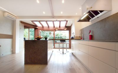Ingrid, superb kitchen with views and light