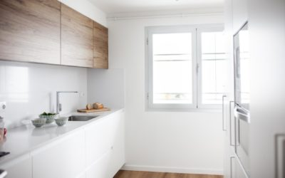 Blanche, reforma parcial de un piso en Sant Cugat del Vallès